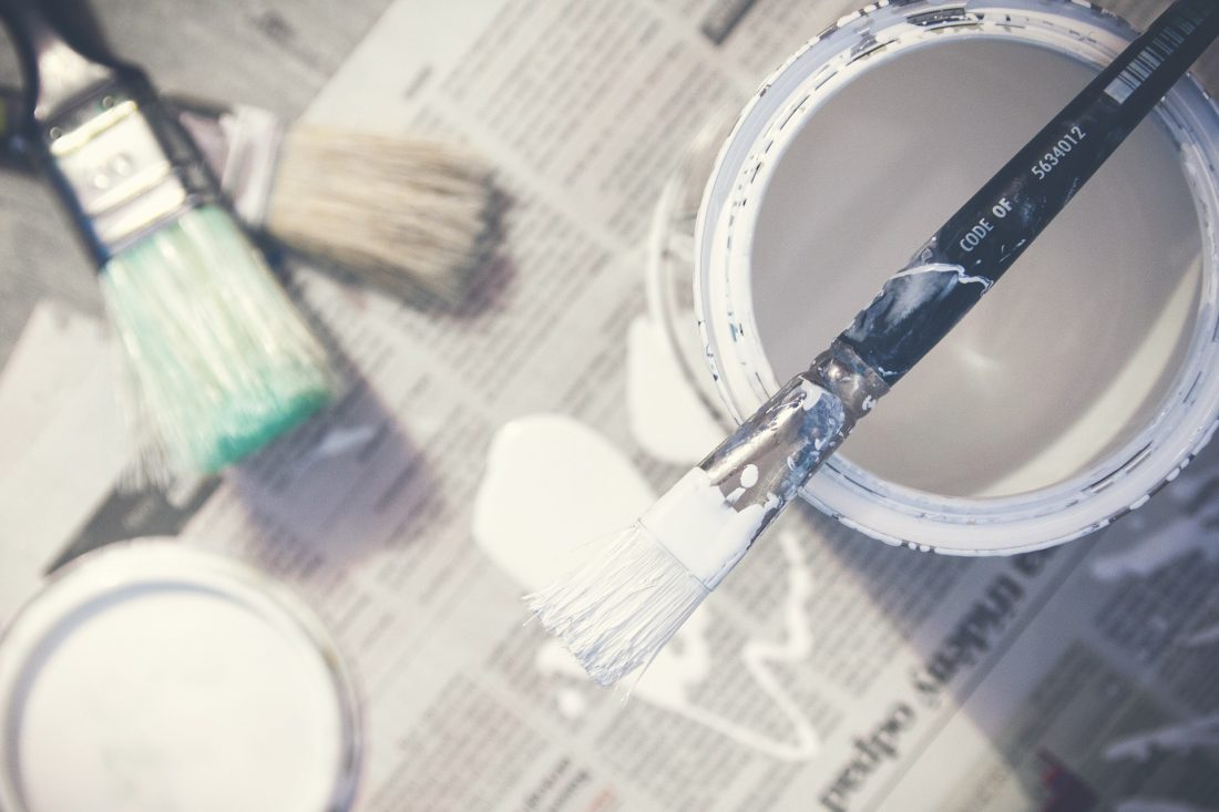 Pick the right paint sheen